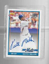 2013 Topps Archives - KEITH MILLER - Fan Favorite Autograph - METS
