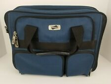 American Tourister Carry On Travel Bag Laptop Case Over Night Luggage Blue