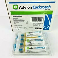 Syngenta ADVION Roach Killer Cockroach Gel Bait (30g) Tubes, with Plunger & Tip