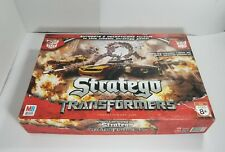 Transformers Stratego Board game by Milton Bradley Family Fun