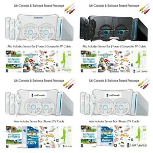 Wii Console   Wii Balance Board   2 controllers   Mario Kart OR Sports Resort