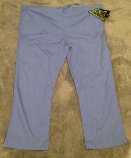 55ccf1e9bb9 Iguanamed Flex II Unisex Cargo Nurse Hospital Scrubs Pants 5310M Ceil Blue  3XL