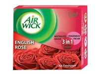 50g Air Wick English Rose Air Freshener Gel Tree  in one Free Shipping