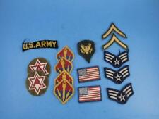Military Patch Collection 15 Patches 6 Point Star Ballistic Missle Agency