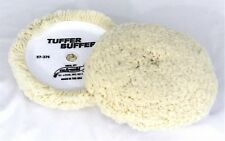 "Wool Buffing Pad and Compounding Pad 7.5"" Hook & Loop  SM Arnold 57-375"