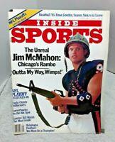 Inside Sports Magazine January 1986 Jim McMahon Bears Baseball 85
