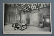 R&L Postcard: Exeter St Nicholas Priory Guest Hall