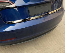 For Tesla Model 3 2018 2019 Stainless Rear Trunk Lid Lower Molding Strip Cover