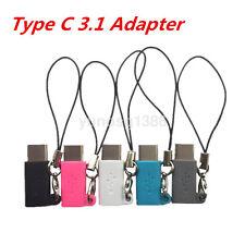 Cable USB recientemente Mini Micro Usb Hembra A Macho Tipo C 3.1 Adaptador Convertidor de USB C