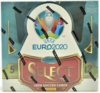 19-20 PANINI SELECT UEFA EURO SOCCER FACTORY SEALED HOBBY BOX FREE SHIPPING