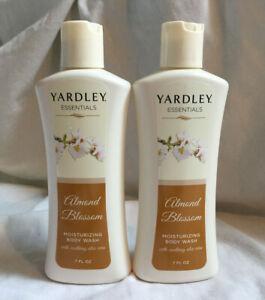 YARDLEY Almond Blossom Moisturizing Body Wash 2 X 207ml 7 fl oz