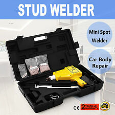 Stud Welder Dent Puller Kit For Car Repair Panel Autoshot Slide Hammer GOOD