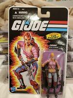 SDCC 2011 Hasbro Exclusive: GI Joe - Zarana (Pink Deco Variant) NEW, MOC