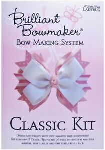 Brilliant Bowmaker Classic COMPLETE Kit BOW MAKING SYSTEM NEW FREE SHIPPING
