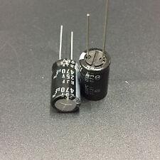 10pcs 470uF 25V Japan ELNA RJF 10X16mm 25V470uF Low Impedance Audio Capacitor