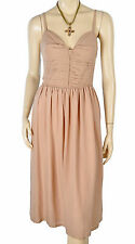 NWT Burberry Brit Cotton Silk Pascale Dress 10