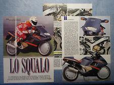 MOTOSPRINT991-PROVA / TEST-1991- GILERA CX 125 - PROVA NOVITA' - 3 fogli