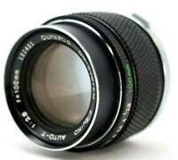 Olympus OM-System Zuiko Auto-T 100mm 1:2.8 Lens *As Is* #TL014
