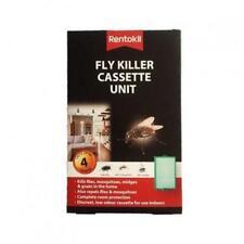 2 x Rentokil Fly Killer Cassette Unit Kills Flies Mosquitoes Moth Midges Insect