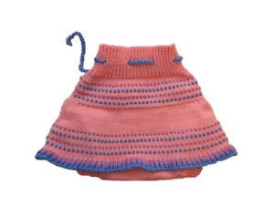 Diaper Cover Skirt 100 % MERINO WOOL baby girl cloth nappy soaker hand knitted