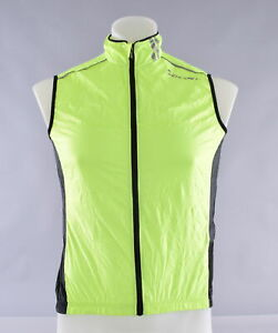 Giant Cycling Wind Vest Size Small High Vis Yellow