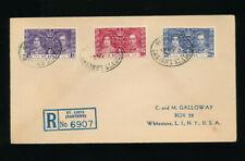 Karibik, Reco-Brief 1937 aus St. Lucia   (S4)