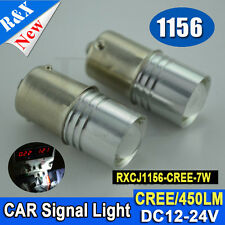 1PC 7W CREE 1156 BA15S P21W Xenon LED CANBUS REVERSE LIGHT BULB WHITE HIGH POWER