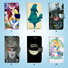 Alice Wallet Case Cover for Samsung Galaxy S3 4 5 6 7 8 Edge Note Plus 051