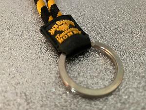 Jack Daniels Tennesse Honey   Schlüsselanhänger   Schwarz-Gelb   erhöhter Druck