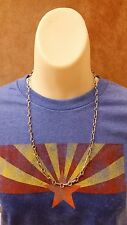 Native American Handmade Navajo Chain Necklace - Sterling Silver