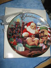 2001 *A Visit From Santa* Collector Plate Avon Plates Retired New with Box