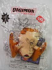 2002 Dairy Queen Digimon #5 Stuffed Patamon w/ Card