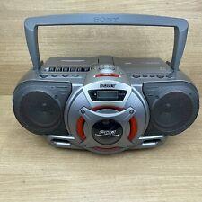 Sony CFD-G55L Ghettoblaster Power Amp Boombox Radio CD Cassette Rare VGC GWO