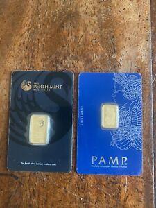 7.5 Gram Gold Bars