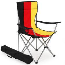 Silla de Camping Pesca Playa Alemania Acampada Bolsa Transporte Acero Exterior