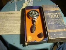vintage allstate compression tester model 8072