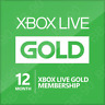 Xbox One/360 Live - 12 Month Gold Membership Subscription - Free Shipping!