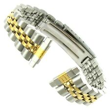 12-15mm Flex-On Ladies Stainless Two - Tone Watch Band BUY 1 GET 1 FREE