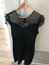 REVIEW JESSIE'S CREPE DRESS BLACK SIZE 10