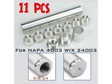 11 PCS 5/8-24 Mini Breather Car Clean Auto 1 x 6 silver