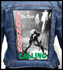THE CLASH --- Giant Backpatch Back Patch / Pretenders Pogues Damned Stranglers