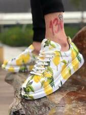 Chekich CH255 Sneakers Trainers Lemon Graffiti Shoes Sneakers Multicoloured