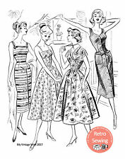 The Haslam System of Dresscutting No. 34 - 1950's  - Copy