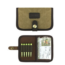 Tourbon Rifle Cartridges Carrier Pouch Ammo Holder Hunter License Wallet Hunting