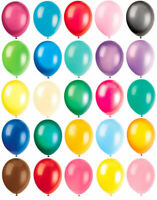 "10 Latex Balloons - 12"" Inch - 20 Colours To Choose - Helium Quality Party Air"