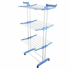 3 Tier Indoor Outdoor Home Laundry Dryer Rack Extra Large Clothes Foldable Airer