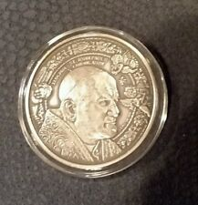 2014 BURKINA FASO POPE ST. JOHN PAUL CANONIZATION COIN