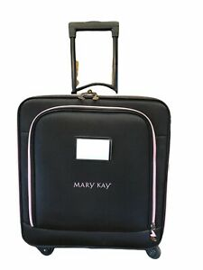 Mary Kay Consultant Rolling Luggage Bag With Inner cases Compartments Travel