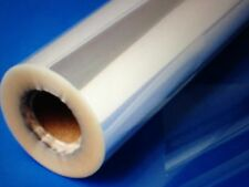 5 NEW ROLLS OF CLEAR CELLOPHANE GIFT WRAP 20 X 100 EA 1.6 MIL