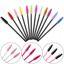 Disposable Eyelash Makeup Brush Mascara Wands Lash Extension Spoolers Applicator